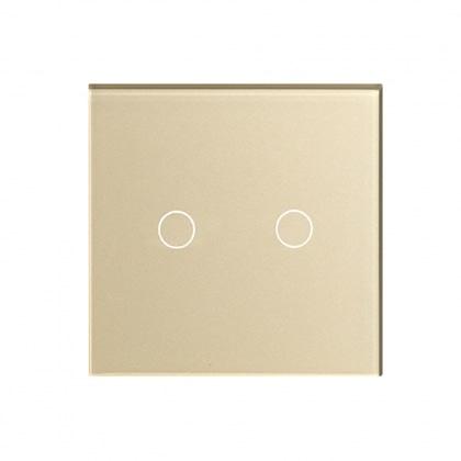 QOŞA SÖNDÜRÜB YANDİRAN SENSORLU DÜYMƏ HIPER Sensor Switch S1G2-01G Golden