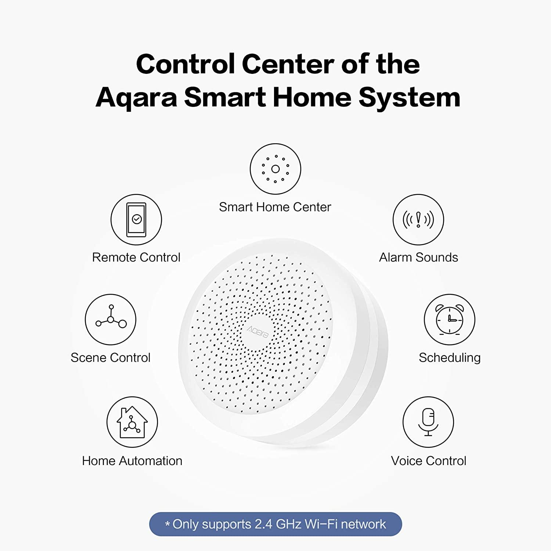 Центр управления Wi-Fi шлюз Aqara Hub ZHWG11LM